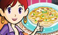 Куриный Феттучини: Кухня Сары