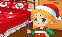 Уборка  рождественского беспорядка