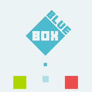 Голубой квадрат